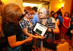 OEP Award Recipients (photo courtesy of the Arkansas Democrat Gazette)