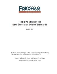 fordham report