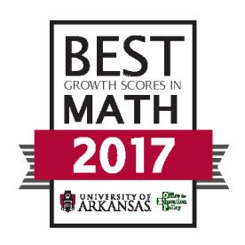UA Achievement Awards 2017 BEST GROWTH MATH